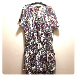 🌸🌺Banana Republic floral dress🌸🌺